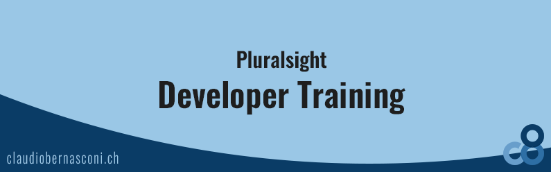 Pluralsight – Developer Training