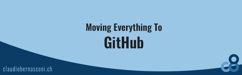 Moving Everything To Github