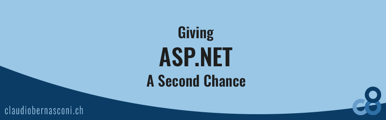 Giving ASP.NET A Second Chance